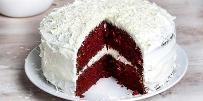 Το εντυπωσιακό Red velvet cake