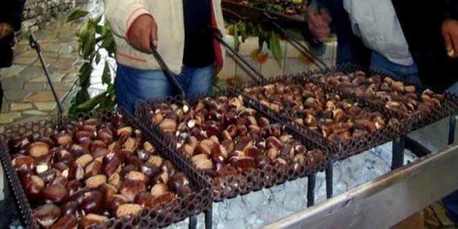 Αποτέλεσμα εικόνας για γιορτη κάστανου στην Ορμα