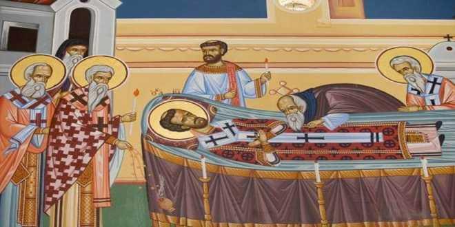 Αποτέλεσμα εικόνας για Ανακομιδή Ιερών Λειψάνων του Αγίου Ιωάννη Χρυσοστόμου Αρχιεπισκόπου Κωνσταντινουπόλεως
