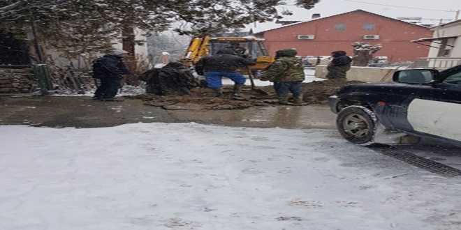 Δ.Ε.Υ.Α. Αλμωπίας: Αποκατάσταση βλάβης στο κεντρικό δίκτυο ύδρευσης της Δωροθέας