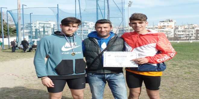 Οι αθλητές Δημήτρης Τσίτσος και Θανάσης Ματζίρης σπάνε τα ρεκόρ τους!