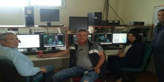 Ο Πρόεδρος του Σ.Ε.Α.Σ. Πέλλας Μηνάς Νικόλαος στις εγκαταστάσεις του ΚΕΜΕ