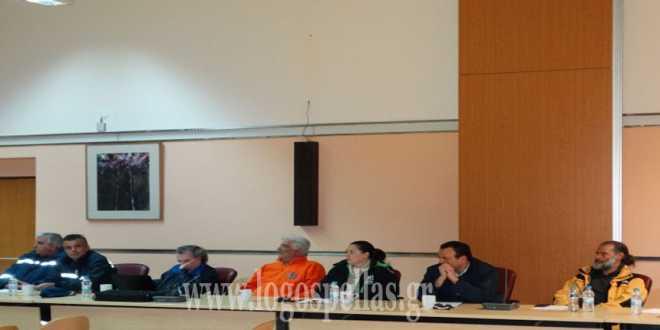 «Χρειάζεται ένα συνεπές σχέδιο διαχείρισης» Συνεδρίαση του Συντονιστικού της Πολιτικής Προστασίας στο δήμο Πέλλας τώρα!