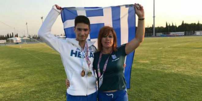 Ο Εδεσσαίος Βασίλης Αρβανίτης «χρυσός» στην Κωνσταντινούπολη στο Βαλκανικό Πρωτάθλημα Παίδων