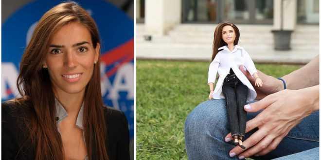 Η Ελένη Αντωνιάδου από το Λιπαρό Πέλλας, μετά τη NASA, γίνεται η πρώτη Ελληνίδα Barbie!