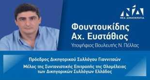 Στάθης Φουντουκίδης: Περιοδεία στο νομό Πέλλας: «Το πρόγραμμα της ΝΔ σέβεται τους πολίτες»